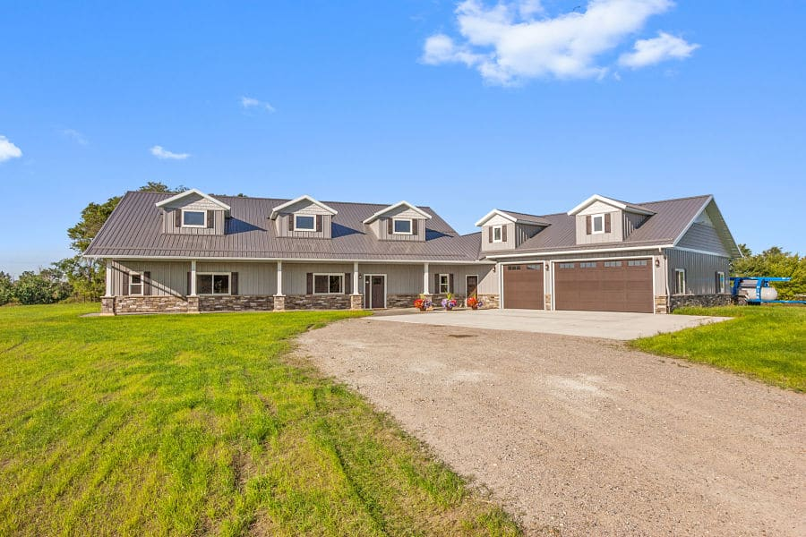 Post frame home|clearwater MN | structural buildings | becker MN