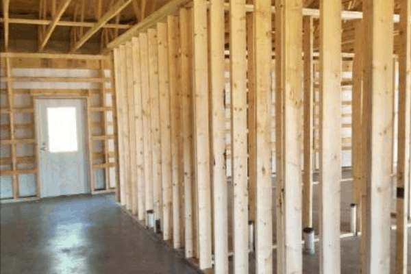 project of the day interior framing